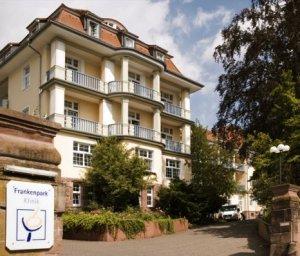 frankenpark klinik bad kissingen bayern deutschland. Black Bedroom Furniture Sets. Home Design Ideas