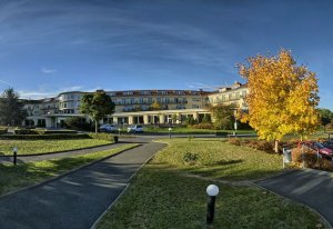 Kurkliniken Sachsen: Klinik am Tharandter Wald Niederschöna Sachsen Deutschland